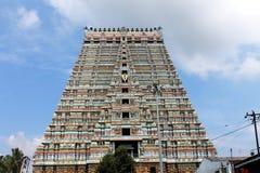 Sri Ranganathaswamy寺庙, Trichy,印度 库存图片