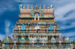 Sri Ranganathaswamy tempel. Indien arkivfoton