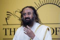 Sri Sri Ravi Shankar photos libres de droits