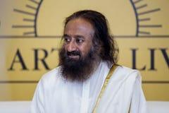 Sri Sri Ravi Shankar photo libre de droits