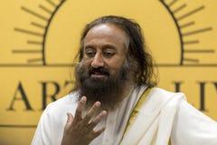 Sri Sri Ravi Shankar image libre de droits