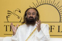 Sri Sri Ravi Shankar photos stock