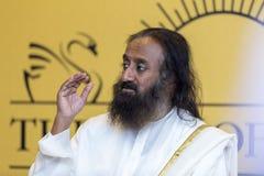 Sri Sri Ravi Shankar images libres de droits