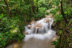 Sri Sang Wan waterfall in Chiang Mai, Thailand. Sri Sang Wan waterfall in Chiangdao district, Chiang Mai, Thailand Stock Image