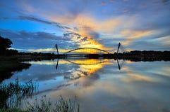 Sri Saujana桥梁 免版税库存图片