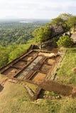 sri sigiriya βράχου s λιονταριών lanka στοκ εικόνες