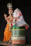 Sri and Smt.savanabrata sircar-Manipuri dance Stock Photography