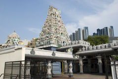 Sri Srinivasa Perumal Temple, Singapore Royalty Free Stock Photos