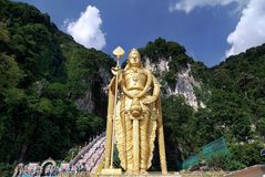 Sri Subramaniam Temple , Batu caves. Shoot From Kuala lumpur Malaysia Stock Images
