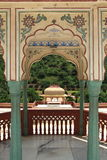 Sri Sudha rani Garden Palace in jaipur. Stock Photo