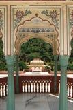 Sri Sudha rani Garden Palace in jaipur. stock photo