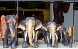 Sri traditionele Lankan handcrafted goederenwinkel Royalty-vrije Stock Afbeelding