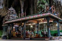 Sri Valli Deivanai Murugan. A temple inside the cave on the second floor Royalty Free Stock Image