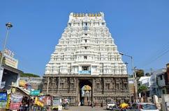 Sri Varadaraja寺庙 库存图片
