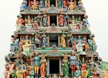 Sri Veerama Kaliamman tempel Arkivbilder