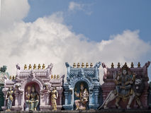 Sri Veeramakaliamman寺庙 库存图片