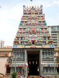 Sri Veeramakaliamman寺庙,一点印度,新加坡 免版税库存照片