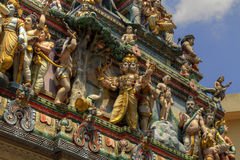 Sri Veeramakaliamman Hindu temple Singapore 2 Stock Images