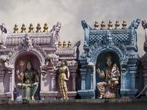 Sri Veeramakaliamman tempel Arkivbild