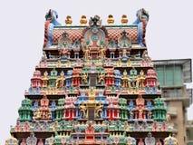 Sri Veeramakaliamman tempel, lilla Indien, Singapore Royaltyfri Bild