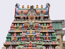Sri Veeramakaliamman Temple, Little India, Singapore Royalty Free Stock Image