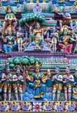 Sri Veeramakaliamman temple. SINGAPORE - FEB 24 : Statues in Sri Veeramakaliamman temple in Little India, Singapore on February 24 2018 It is one of the oldest Stock Images