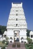 Sri Venkateshwara寺庙在马利布加利福尼亚 库存照片