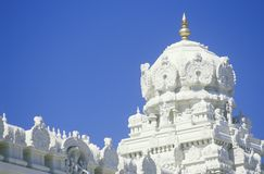 Sri Venkateshwara Temple in Malibu California Stock Images