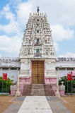 Sri Venkateshwara temple at Pushkar Stock Photo