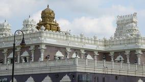 Sri Venkateswara świątynia w Bridgewater, Nowym - bydło Zdjęcia Stock
