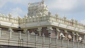 Sri Venkateswara寺庙在布里奇沃特,新泽西 免版税图库摄影