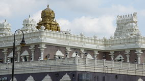 Sri Venkateswara Temple in Bridgewater, New Jersey Stock Photos