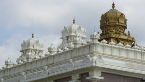 Sri Venkateswara Temple in Bridgewater, New Jersey. (USA royalty free stock image