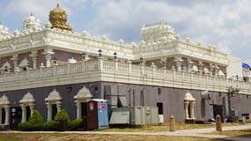 Sri Venkateswara Temple in Bridgewater, New Jersey Royalty Free Stock Photography