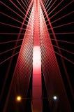Sri Wawasan most jest wśród siedem mosta lokalizować przy Putrajaya, Malezja Fotografia Royalty Free
