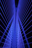 Sri Wawasan most jest wśród siedem mosta lokalizować przy Putrajaya, Malezja Obraz Royalty Free