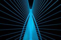 Sri Wawasan most jest wśród siedem mosta lokalizować przy Putrajaya, Malezja Obraz Stock