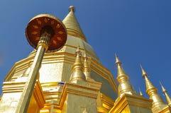 Sri Wiang Chai pagoda. In Lamphum Thailand Royalty Free Stock Photo