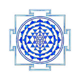 Sri Yantra Royaltyfri Fotografi