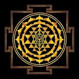 Sri Yantra Chakra Ελεύθερη απεικόνιση δικαιώματος