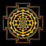 Sri Yantra Chakra Royalty Free Stock Photos