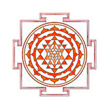 Sri Yantra Stock Photography