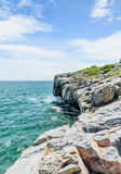 Srichang Island Thailand. Sea and sky Royalty Free Stock Images