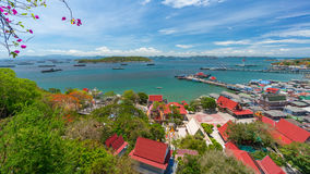 Srichang top view landscape Royalty Free Stock Photo