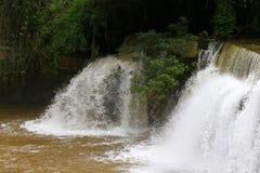 Sridith vattenfall i khaoko på Petchabun, Thailand Fotografering för Bildbyråer