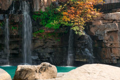 Sridith-Wasserfall Stockbilder