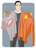 Série da ilustração da compra Foto de Stock Royalty Free