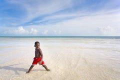 Série de plage - diversité Images libres de droits