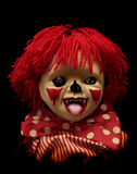Série escura - palhaço assustador Imagens de Stock Royalty Free