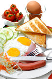 Série occidentale 1 de nourriture Photo libre de droits